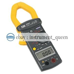 Tes 3082 True Rms Clamp Meter Auto Zero data Hold Peak Hold new