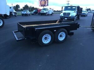 Precision Equipment Manufacturing Trailer With 250 Gallon Fuel Tank Trailer