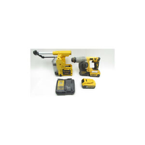 Dewalt 20v 1 Sds plus L shape Rotary Hammer And D25303dh Dust Extractor