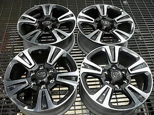 Tacoma 17 Wheels Factory Oem Take off s From New Tacoma Local Pickup Only
