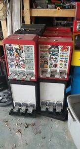 12 Total 3 Column Used 50 Sticker tattoo Vending Machines Pick Up Only