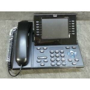 Cisco Ip Business Phone W cam 6 line 5 6 High res Display Bluetooth Cp 9971