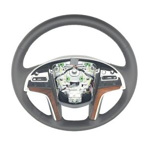 Cadillac Escalade Leather Steering Wheel Black New Oem 2015 2017