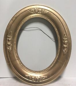 Vtg Antique Oval Victorian Picture Frame Fits 8 X10