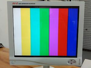 Stryker 240 030 920 19 Sv 2 Flat Panel Hd Monitor With Power Supply