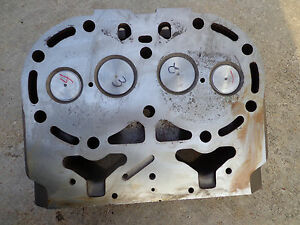 John Deere 80 820 830 R2703r Cylinder Head New Valves And Seats Decked Too