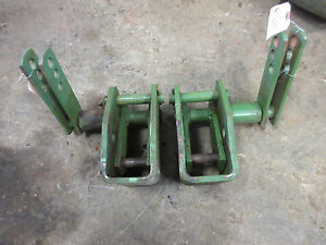 John Deere 801 Top Link Support Brackets Set