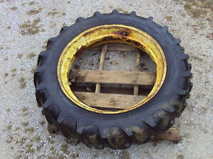 John Deere A B G Ih Rim Tire 13 6 38 Firestone Field And Road 80 Tread