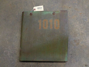 John Deere 1010 Rear Right Side Panel Rare Super Nice Panel