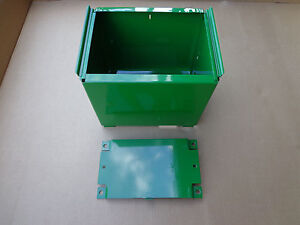 John Deere 820 830 Correct Battery Box With The Battery Box Base