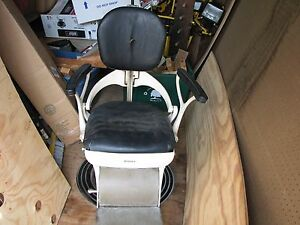 1940 s Ritter Dentist Chair Electric Hydralic Barber Chair Tattoo Chair