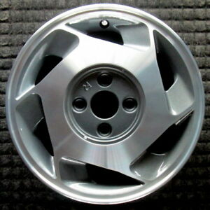 Honda Prelude Machined Right 14 Inch Oem Wheel 1990 1991