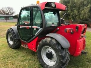 2011 Manitou Mlt 741 120 Telescopic Forklifts