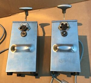 Edlund 266 Single Speed Commercial Electric Can Opener 115v One On Right