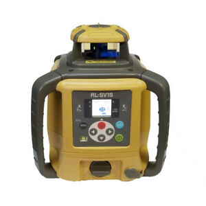 Topcon Rl sv1s Single Slope Self leveling Laser Level Rechargeable Digital Model