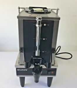 Bunn 1 5gpr ff 1 5 Gallon Commercial Coffee Maker Satellite And Warmer