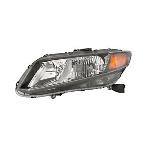 For Honda Civic 2012 Replace Ho2502145v Driver Side Replacement Headlight