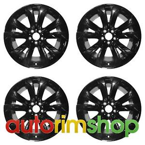 Bmw X5 X6 2014 2018 20 Factory Oem Staggered Wheels Rims Set