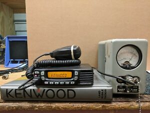 Kenwood Tk 7360hv Vhf 136 174mhz comes With Microphone