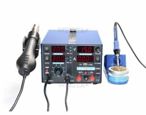 Hot Air Rework Station New 2a Yihua 3in1 220v Usb Soldering Rework Station 85 Hi