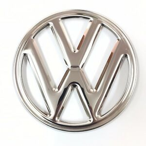 Vw Emblem Front 250mm 4 Prong Bus 68 72 Stainless Steel Volkswagen Type2 Kombi