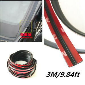 9 84ft Rubber Seal Strip Trim For Car Front Rear Windshield Sunroof Weatherstrip