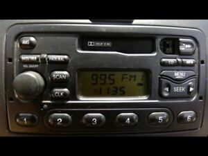 Audio Equipment Radio Am Fm Cassette Id Ys4f 18c838 Cb Fits 00 04 Focus 721776