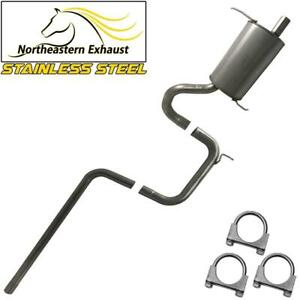 Stainless Steel Exhaust System Kit Fits 2001 2010 Ptcruiser 2 4l