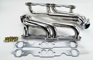 Chevy Gmc 88 97 5 0l 5 7l 305 350 V8 Stainless Steel Headers Truck W Gaskets