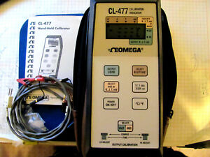 Omega Cl 477 Temperature Calibrator Thermometer