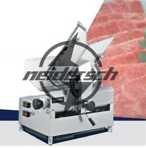 Table Automatic Commercial Slicer Planer Fattening Machine 250w 12 inch 220v