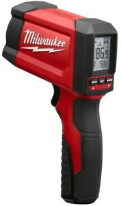 Milwaukee Laser Temperature Gun 7 point Reinforced Frame Fully Bumper Nose