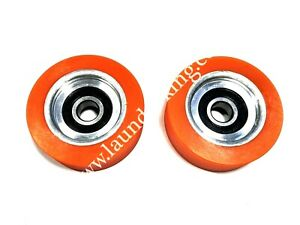 70298701p 2 Pieces high Quality Orange Roller Bearing For Huebsch sq ipso Dryer