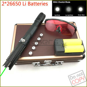 G821 520nm Adjustable Focus Burning Green Laser Pointer Visible Laser Beam