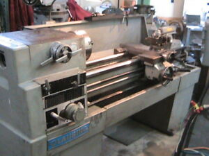 Clausing 14 X 48 Variable Speed Lathe