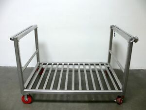 Heavy Duty Stainless Steel Cart W Side Chains 40 X 60