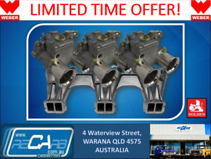 Holden 6 Blue Motor New Genuine Weber Triple 45 Dcoe Carburettor Kit