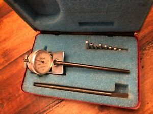 Vintage Central Tool Co 258 Gauge Dial Indicator 0 0005 Usa
