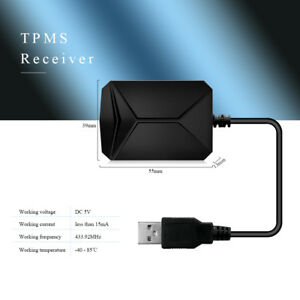 Cstty06 Powerful Tpms Tire Pressure Monitoring System Usb Tpms For Most Vehicles