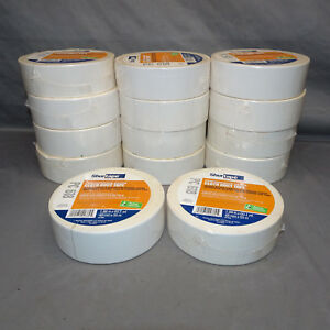 Lot Of 14 Rolls Shurtape Pc 618 Cloth Duct Tape 2 X 60 Yds 48mm X 55m White