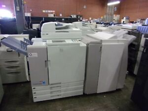 Risograph Riso 7050 Printer With Is900c Rip Finisher And Scanner