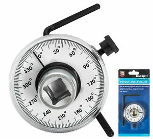 Bluespot Torque Angle Gauge Easy Read Face For Socket Ratchets 1 2 Drive