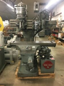 Bridgeport J Head Series True trace Milling Machine