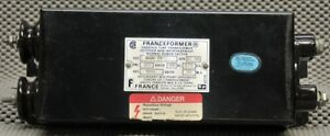 Franceformer Neon Transformer 9kv 30 Ma W No Rf Interference Or Audio Whistle
