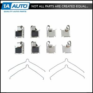 Front Disc Brake Caliper Hardware Kit For Prizm Corolla Camry Celica Rav4 Mr2