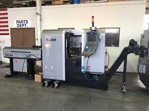 Used Hurco Tm6i Slant Bed Cnc Lathe Low Hours Turning Center 6 Chuck Clean