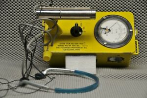 Civil Defense Victoreen Cdv 700 Geiger Model 6a With Philips Headset Works Great