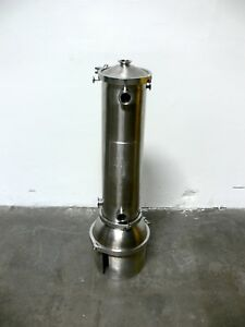 Hans Pedersen 20 Liter Stainless Steel Round Bottom Reactor Vessel 50 Psi