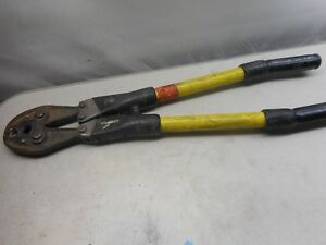 Kearney Wire Cable Mechanical Compression Crimper Tool 20