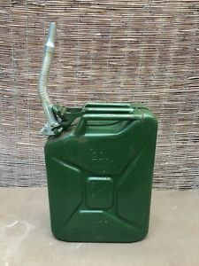 Vintage 1954 5 Gallon Fuel Can Army Military Gas Emergency Backup Marked Ffa